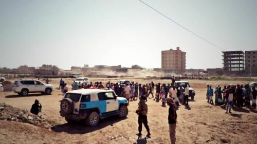برعاية لملس وباحارثة..  تدشين صرف أراضي المواطنين في بلوكات بير فضل