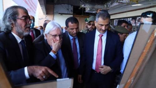 بعد الهجوم على مطار العاصمة عدن..  (اليوم الثامن) تنشر إحاطة المبعوث مارتن غريفيث إلى مجلس الأمن