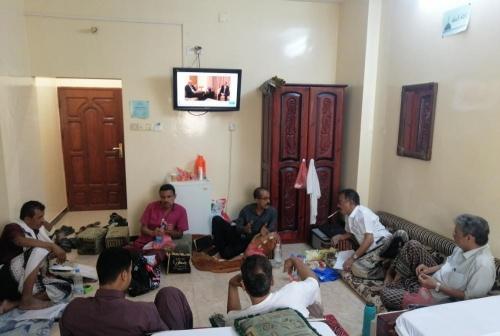 """بحضور عضو اللجنة التنفيذية..  تنظيمية """"حزب الرابطة"""" تعقد لقاء تشاوريا في العاصمة عدن"""