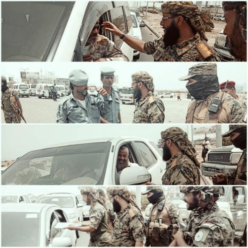 تنفيذاً لإجراءات الحملة الأمنية..  قوات الحزام الأمني قطاع المنصورة تصدر تنبيه هام للمواطنين